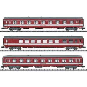 Coffret de 2 voitures UIC A9 et une Vru SNCF Capitole