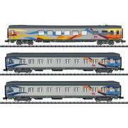 Cofret de 3 voitures Croisière SNCF