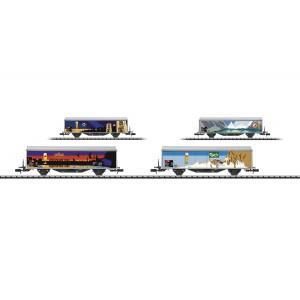 Set de wagons Hbils-vy SBB