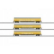 Coffret de 3 wagons postaux Wascosa