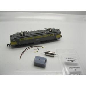 Kit de motorisation 150 X et CC 7100 Roco