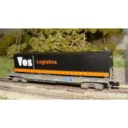 Wagon poche NS + semi-remorque VOS Logistics