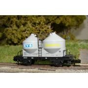 Wagon silo SNCF EVS TRANSPUL