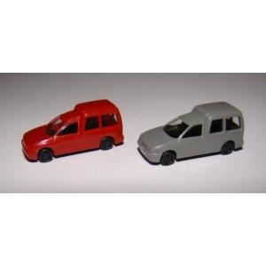 Jeu de 2 VW Caddy vitrés