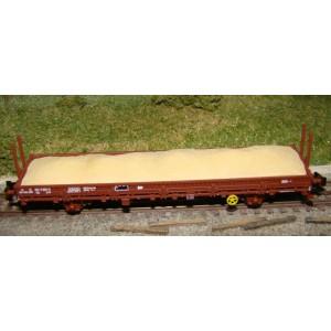 Chargement de sable pour wagon plat K50