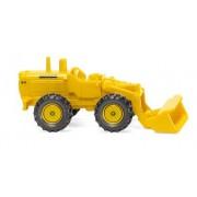 Chargeur sur roues Hanomag jaune