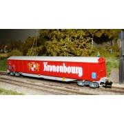 Wagon Habils SNCF EVS Kronembourg