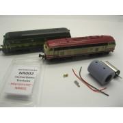 Kit de motorisation locomotives SNCB 59 et BR 215 Roco