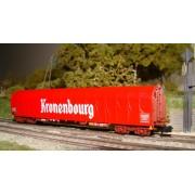 Wagon bâché long Rils SNCF Kronembourg