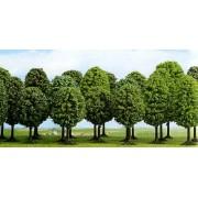 Set of 12 leaved trees