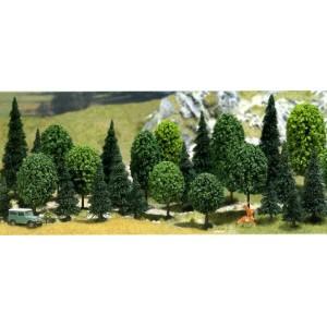 Lot de 30 arbres assortis