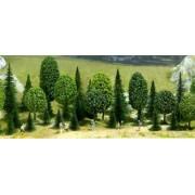 Lot de 35 arbres assortis